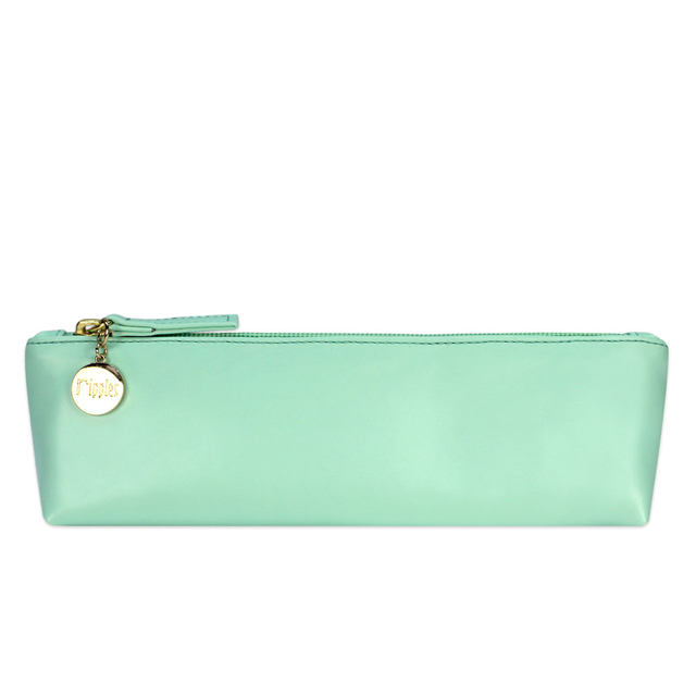 [PROMO] Kaylyn Slim PU Leather Pouch (Turquoise)