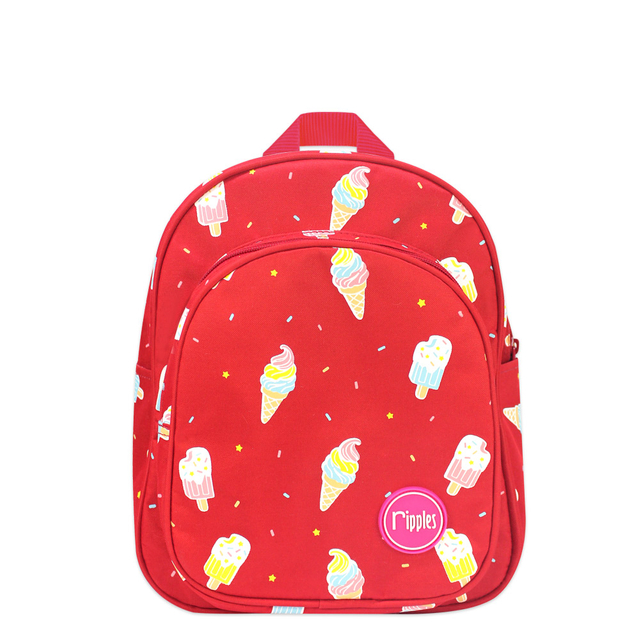 [PROMO] Ice Cream Kids Backpack (Red)