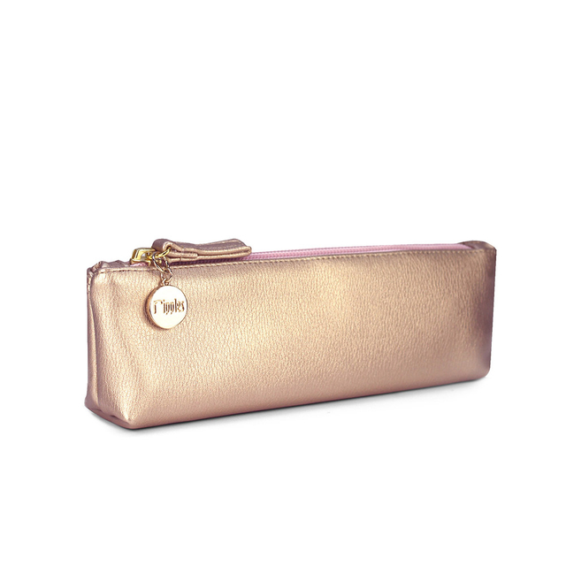 [PROMO] Kaylyn Slim PU Leather Pouch (Rose Gold)