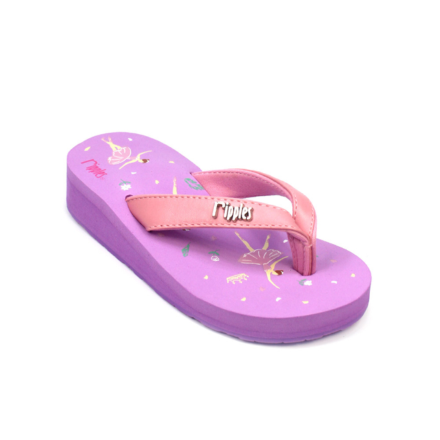 Ballerina Little Kids Wedge (Purple)