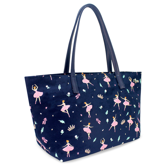 Ballerina Handbag (Navy Blue)