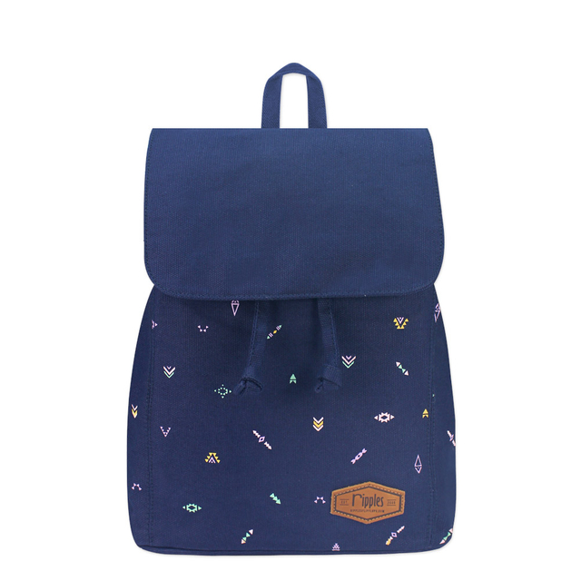 Arika Aztec Ladies Backpack (Navy Blue)