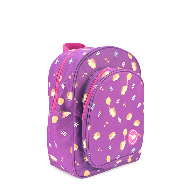 [PROMO] Hedgehog Kids Backpack (Purple)