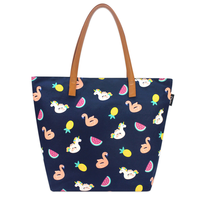 [PROMO] Summer Floats Tote Bag (Navy Blue)