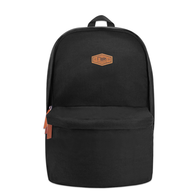 Sienna Canvas Backpack (Black)