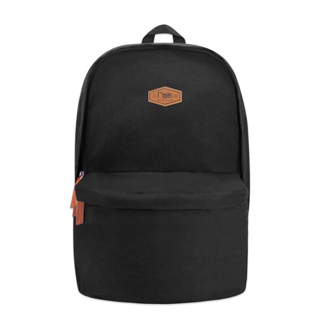 [ Promo ] Sienna Canvas Backpack (Black)