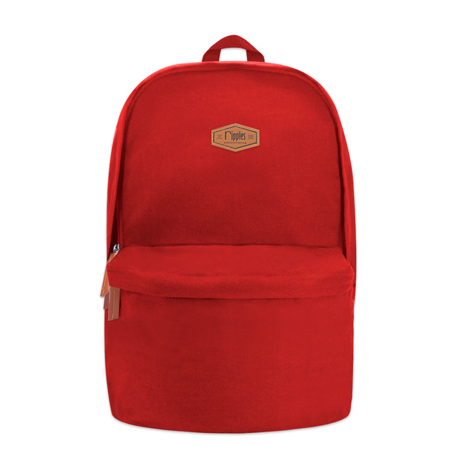 [PROMO] Sienna Canvas Backpack (Red)