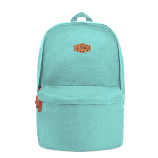Sienna Canvas Backpack (Turquoise)