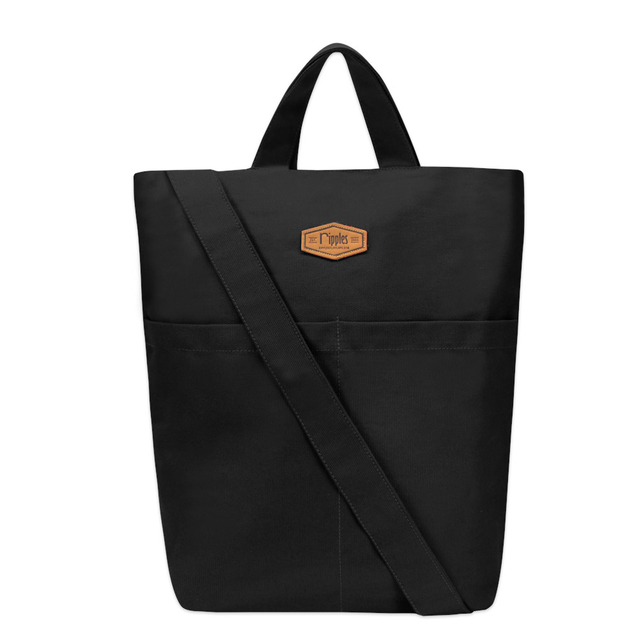 Faith Canvas Sling Bag (Black)