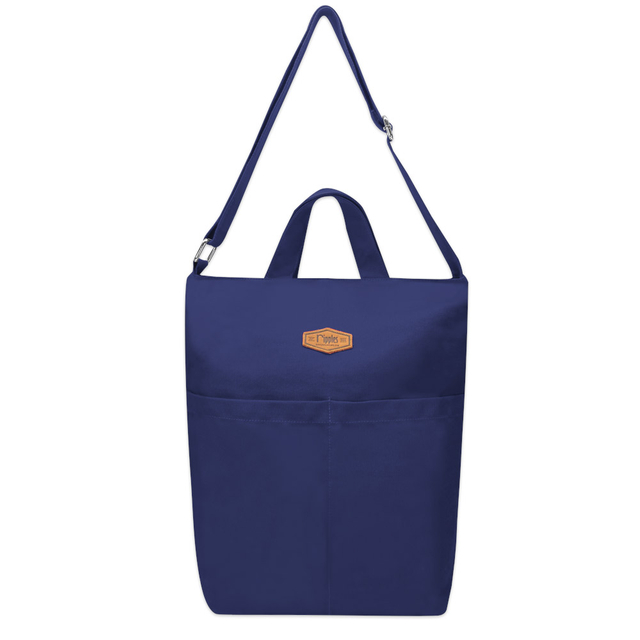 Faith Canvas Sling Bag (Navy Blue)