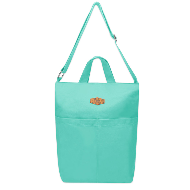 Faith Canvas Sling Bag (Turquoise)
