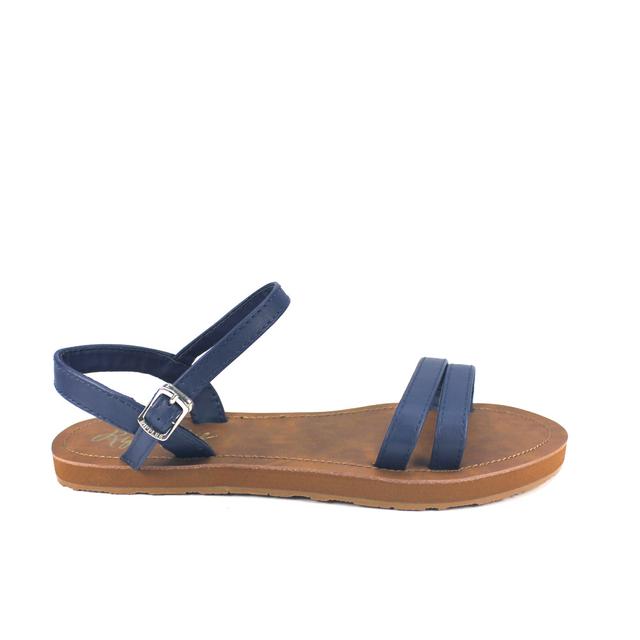 [SALE] Belle Strappy Sandals (Navy Blue)
