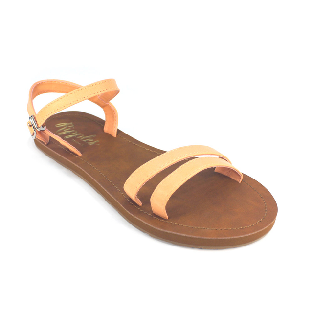 [PROMO] Belle Strappy Sandals (Peach)