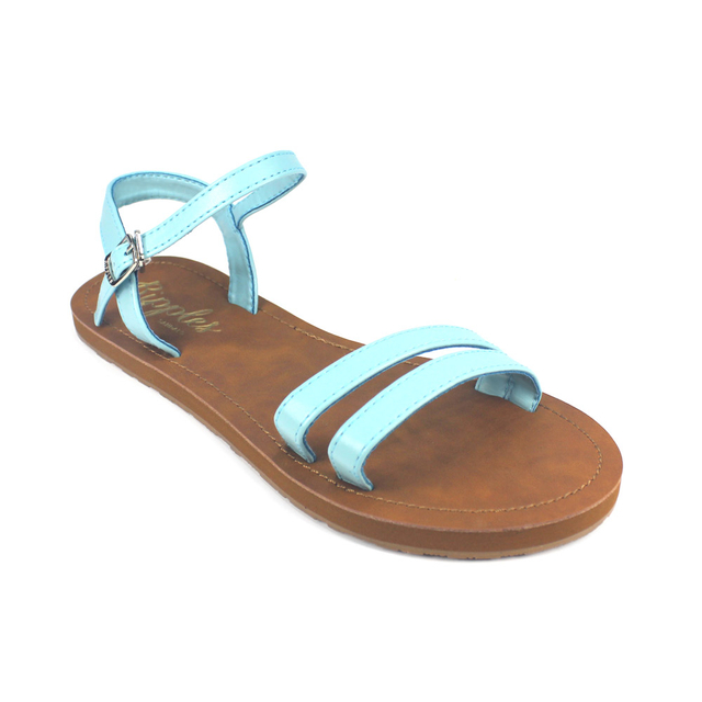 [PROMO] Belle Strappy Sandals (Turquoise)
