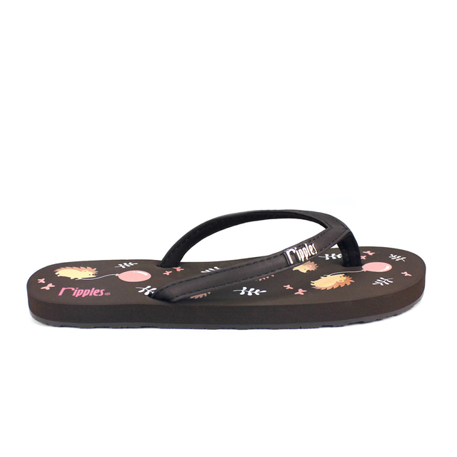 [SALE] Hedgehog Ladies Flip Flops (Brown)