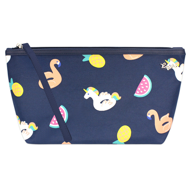 [PROMO] Summer Floats Cosmetic Pouch (Navy Blue)