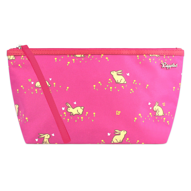 [PROMO] Meadow Rabbits Cosmetic Pouch (Pink)
