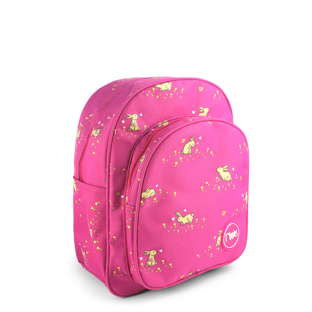 [PROMO] Meadow Rabbits Kids Backpack (Pink)