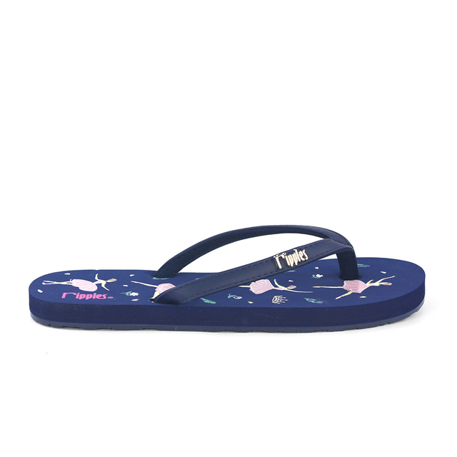[SALE] Ballerina Ladies Flip Flops (Navy Blue)