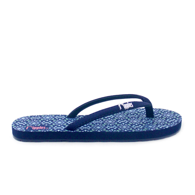 Nadia Ladies Flip Flops (Navy Blue)