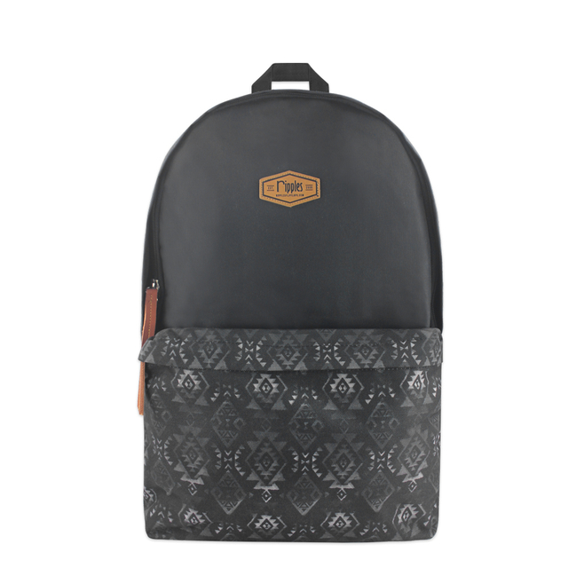[PROMO] Alexis Aztec Digital Print Backpack (Black)