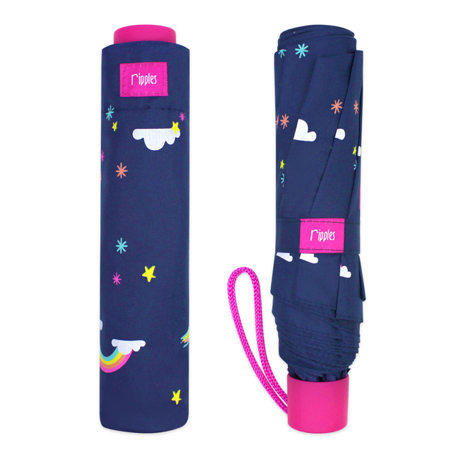 [PROMO] Rainbow Umbrella (Navy Blue)
