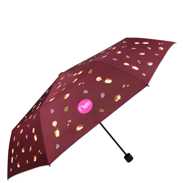 [PROMO] Hedgehog Umbrella (Brown)