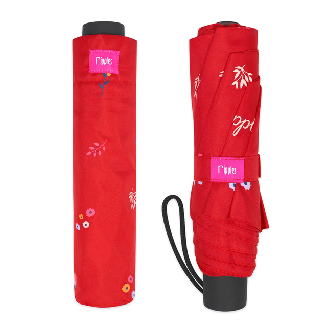 [PROMO] Alyssa Floral Umbrella (Red)
