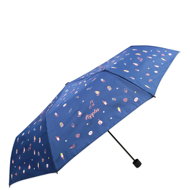 [PROMO] Tiny Things Navy Umbrella (Navy Blue)