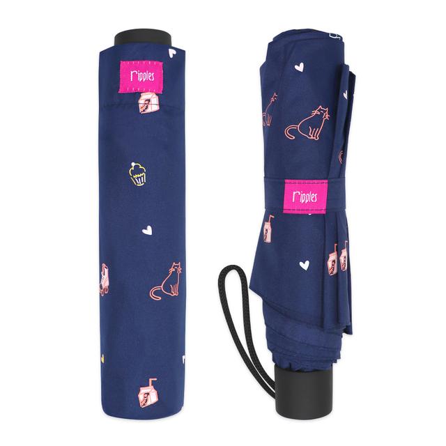 [PROMO] Tiny Things Navy Umbrella (Navy Blue)