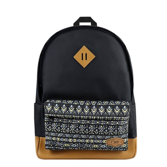 Astrial Aztec School Backpack (Black)