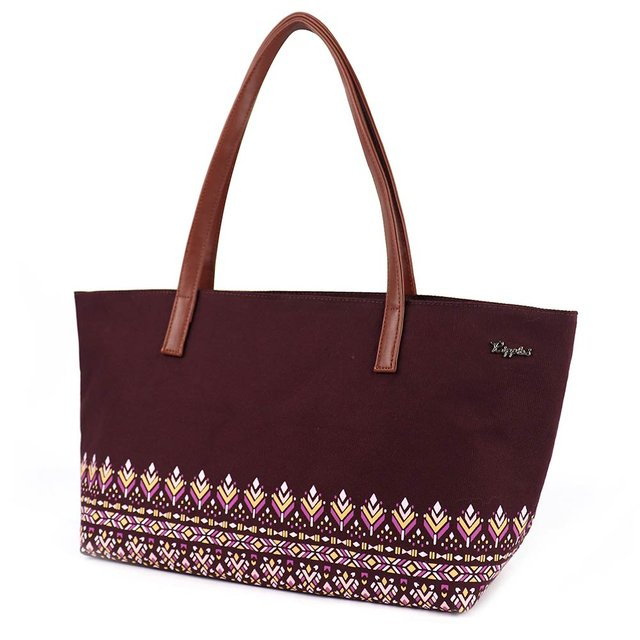 Astrial Aztec Handbag (Maroon)