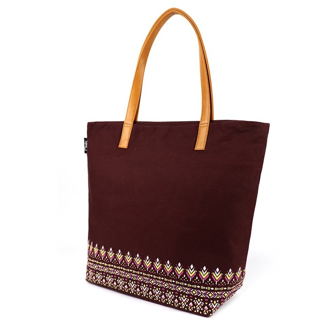 [PROMO] Astrial Aztec Tote Bag (Maroon)