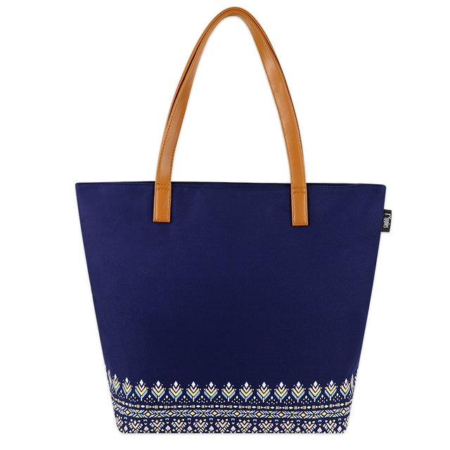 [PROMO] Astrial Aztec Tote Bag (Navy Blue)