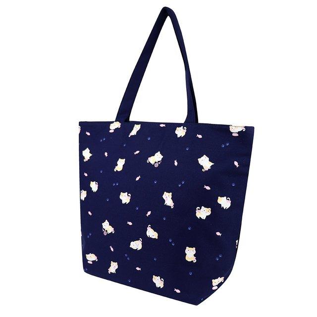 [PROMO] Kittens Tote Bag (Navy Blue)