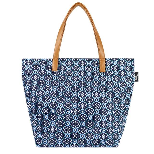Nadia Tote Bag (Navy Blue)