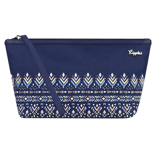 [PROMO] Astrial Aztec Cosmetic Pouch (Navy Blue)
