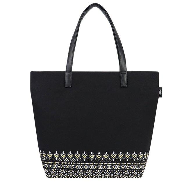 Astrial Aztec Tote Bag (Black)