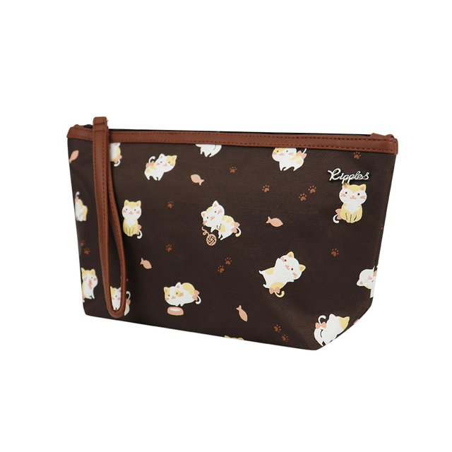 [PROMO] Kittens Cosmetic Pouch (Brown)
