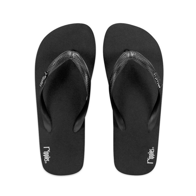 Andre Basic Men Flip Flops (Black)