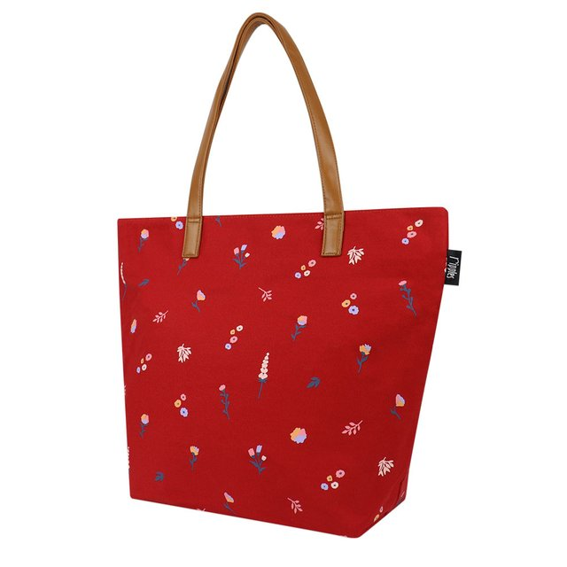 [PROMO] Alyssa Florals Tote Bag (Red)