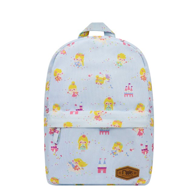 Fairies Mid Sized Kids School Backpack (Blue)