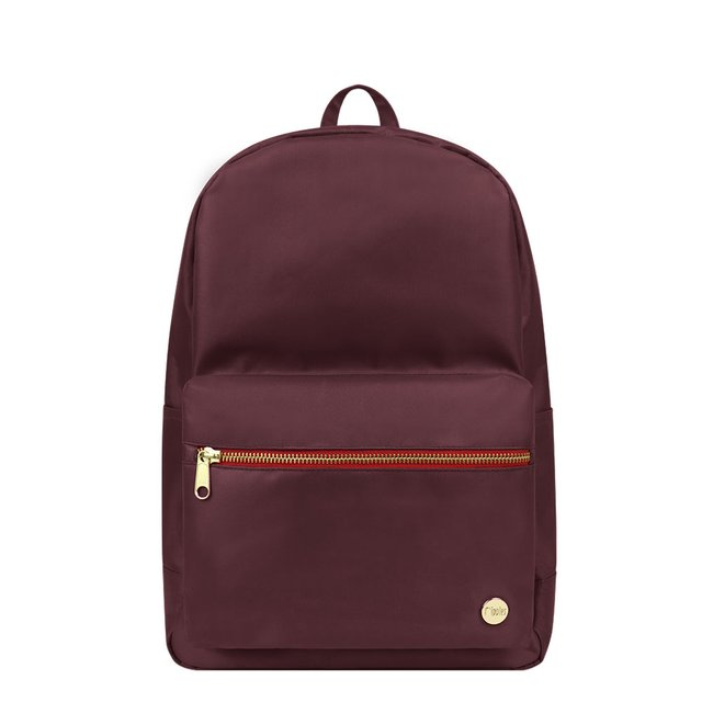 Jamie Classic Backpack (Maroon)