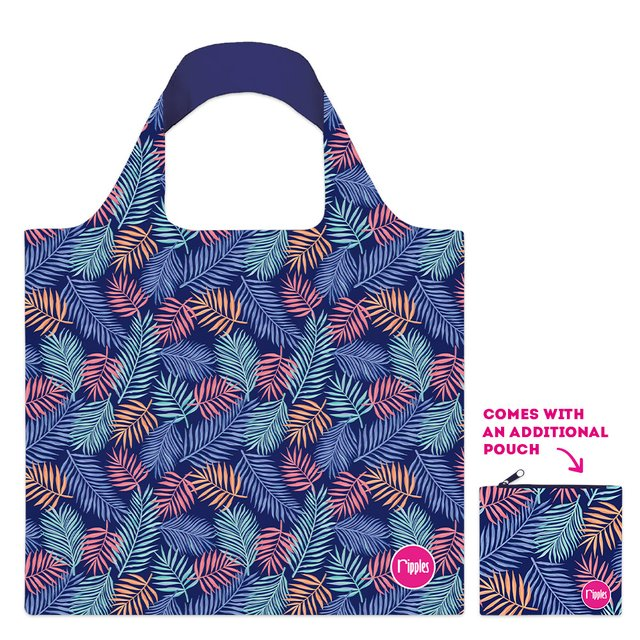 [PROMO] Tropical Leaves Recycle Eco Tote Bag
