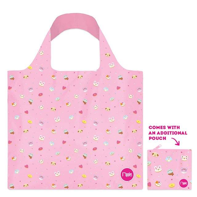 Animal Donuts Recycle Eco Tote Bag