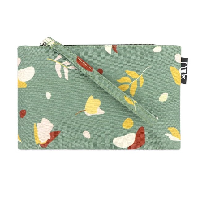 [PROMO] Abstract Leaves Essential Pouch (Willow Green)