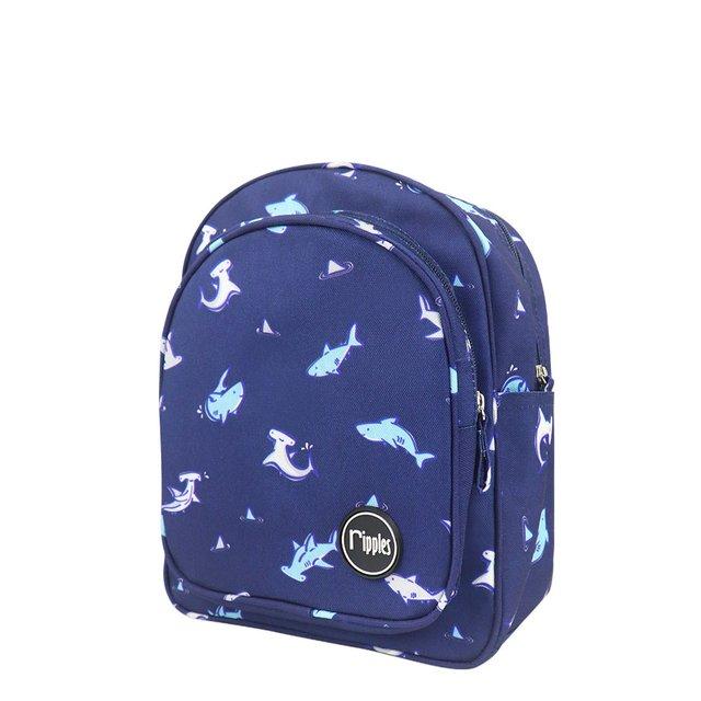 Sharks Kids Backpack (Navy Blue)